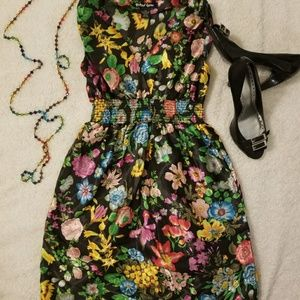 5 for 30>  Silky floral dress size xs Nordstrom